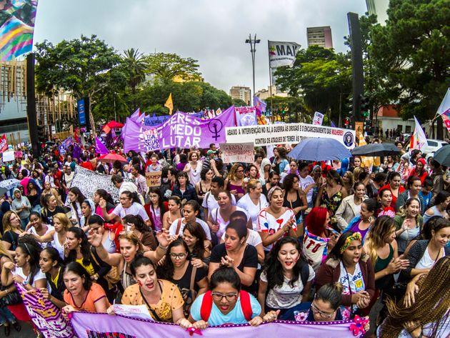 Em 2018, foram registrados 1.206 feminicídios no Brasil, segundo o 13º Anuário Brasileiro...