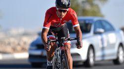 Le cycliste marocain Haddi Soufiane vainqueur du Grand Prix international