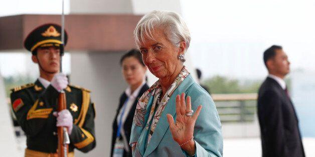 IMF Managing Director Christine