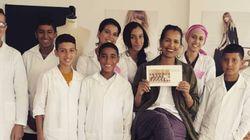 L'école gratuite de broderie de Fadila El Gadi a ouvert ses portes à