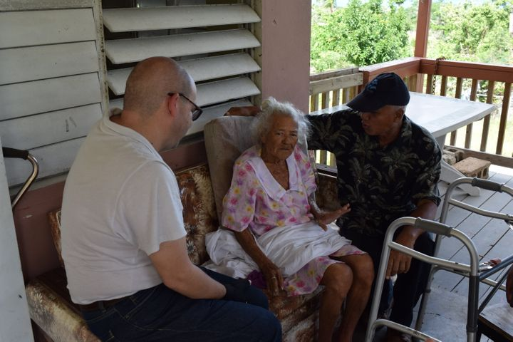 Wilfred Labiosa and his team at Waves Ahead help elderly LGBTQ people and the homeless in Puerto Rico by providing homes, ser