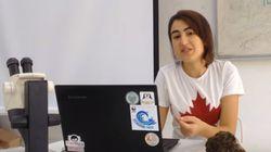Fawzia Bahloul a besoin de vos votes pour remporter un concours vidéo dans le cadre de la COP