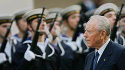 L'ancien président italien Carlo Azeglio Ciampi est mort à 95