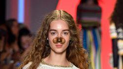 Les mannequins de ce défilé de la Fashion Week de New York portent vraiment des filtres