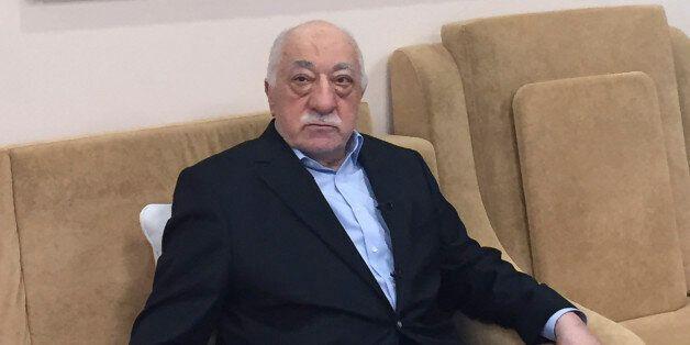 Turkish cleric and opponent to the Erdogan regime Fethullah Gülen adresses at his residence in Saylorsburg,...