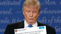 Pendant le débat, Clinton a déterré ce tweet ubuesque de Trump sur le