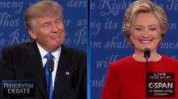 Cette sortie de Trump a ravi Clinton pendant le débat (et bien fait rire le