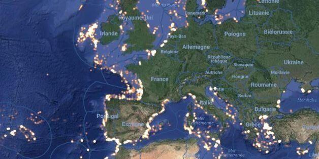 Global Fishing Watch visualise en temps réel l'emplacement des chalutiers industriels et espère prévenir...