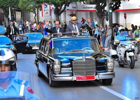Les plus belles voitures du roi Mohammed VI