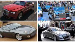 Les plus belles voitures du roi Mohammed