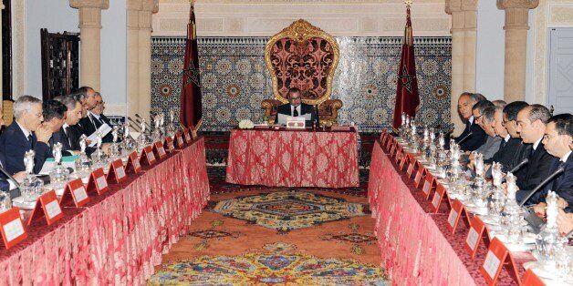Le roi préside le Conseil des ministres datant du 13 octobre