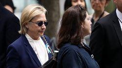 Hillary Clinton, souffrant d'une pneumonie, annule ses déplacements pendant deux