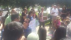 Un sit-in en hommage à Amira Merabet, brûlée vive la semaine dernière à