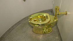 Vous pourrez essayer ces toilettes en or au musée Guggenheim de New