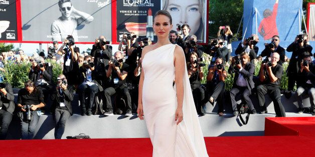 Actress Natalie Portman attends the red carpet for the
