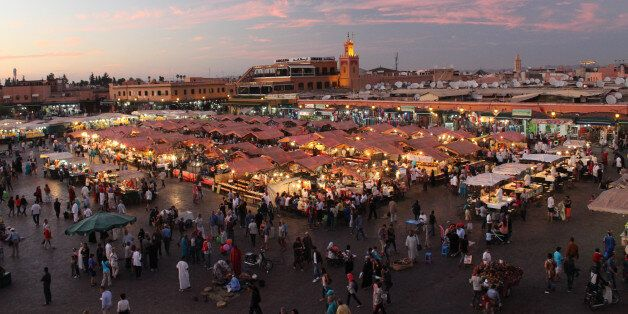 The Jemaa el-Fnaa is one of the best-known squares in Africa and is the centre of city activity and trade....