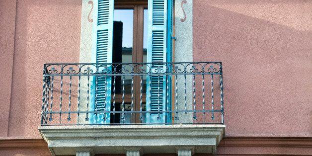 Balcony on building in
