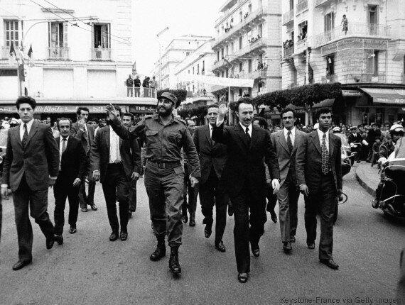 Souvenir de la visite de Castro à