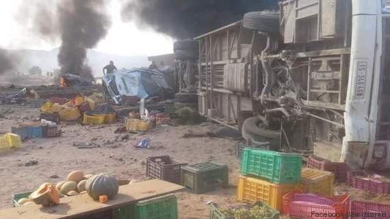 Tunisie: Plusieurs morts et de nombreux blessés dans un accident de la route à