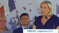 Marine Le Pen critique sévèrement le voyage de Sarkozy au