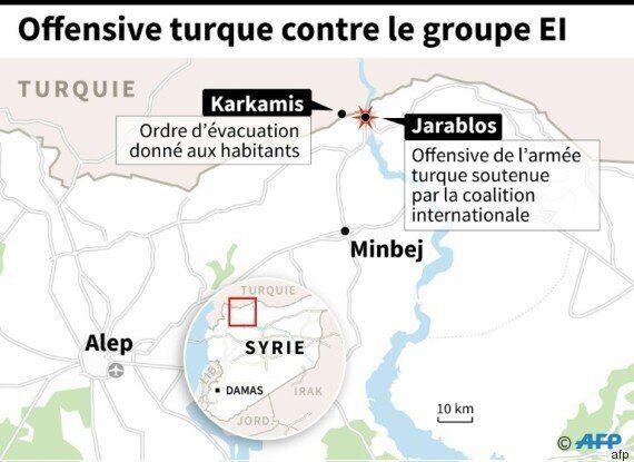 Offensive turque en Syrie: Washington contraint au grand