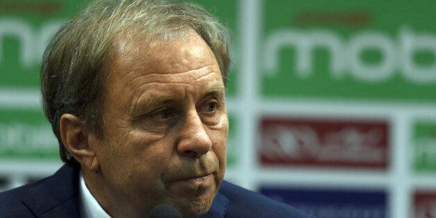 Serbian Milovan Rajevac, the newly appointed Algerian football team coach and former professional player,...