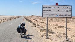 Le Maroc entame le goudronnage d'une route à Guerguerat, près de la