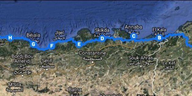 Rouler utile: Deux Tunisiens et un Algérien vont faire Tunis-Alger à