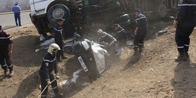 8 enfants tués et 15 personnes blessées dans un accident de la route à