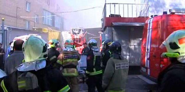 Russie: au moins 16 morts dans l'incendie d'un entrepôt à