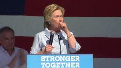 Hillary Clinton prise d'une quinte de toux, les pro-Donald Trump s'enflamment sur sa