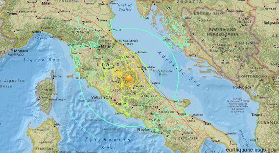 Un séisme de magnitude 6,2 secoue l'Italie et fait au moins 37