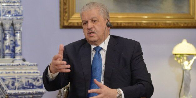 MOSCOW REGION, RUSSIA. APRIL 27, 2016. Algeria's Prime Minister Abdelmalek Sellal during a meeting with...