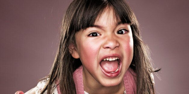 female,child,shouts,hair,scream,temper,annoyed,pink,furious