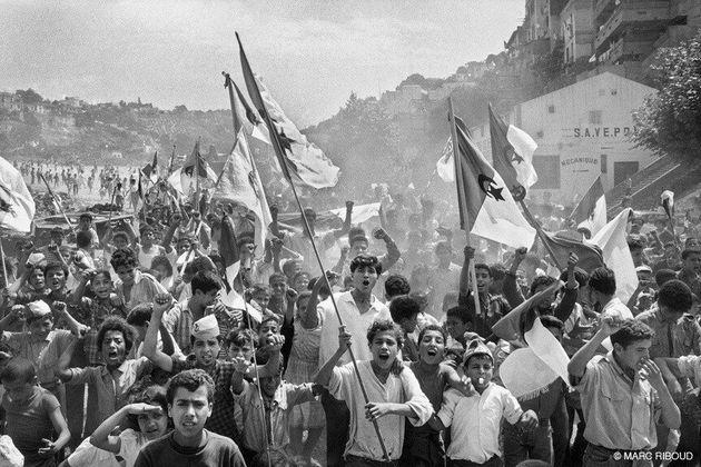 Comme sur un air d'El Anka : Marc Riboud, portraitiste d'une Algérie en