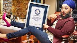 Cette jeune femme détient l'un des records les plus fous du Guinness