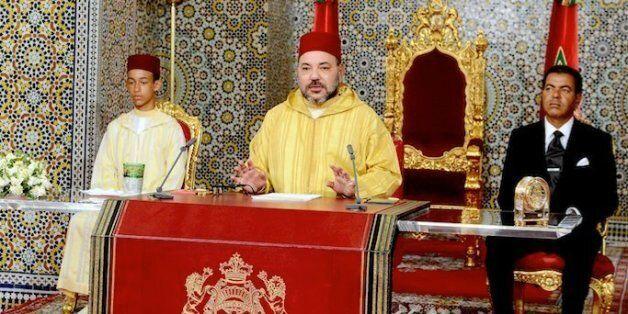 Le roi Mohammed VI adresse un discours à l'occasion du 63e anniversaire de la Révolution du roi et du