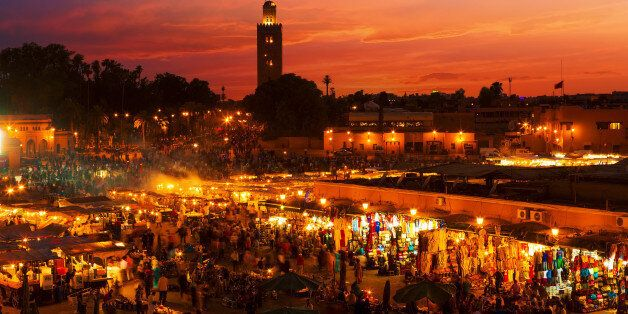 La place Jemaa El Fna de
