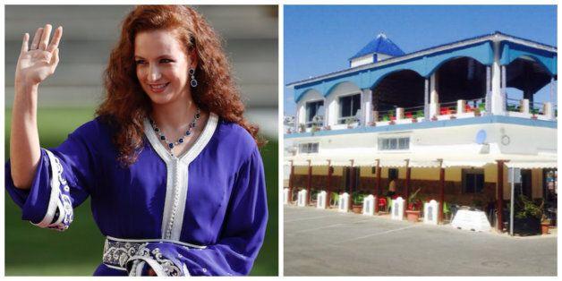La princesse Lalla Salma aperçue dans un petit restaurant de poissons à