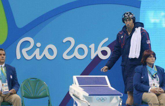 JO-2016: premier record du monde pour l'athlétisme, Phelps