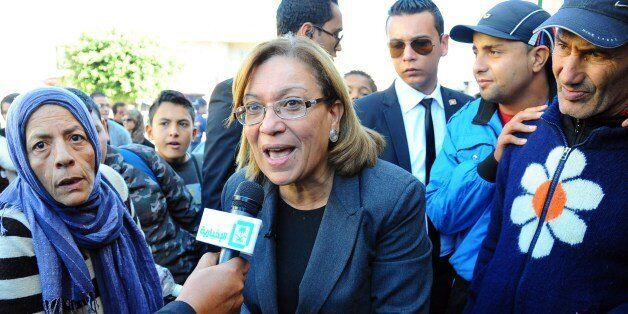 Former chairwomen of the Tunisian magistrates association and candidate for the Tunisian presidential...