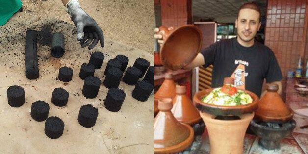 Ce jeune entrepreneur marocain crée un charbon