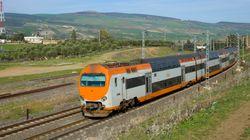 La nouvelle gare de Bouskoura