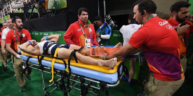 La grave blessure du gymnaste français Samir Aït-Saïd aux