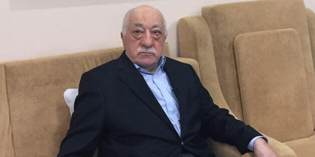Turkish cleric and opponent to the Erdogan regime Fethullah Gülen adresses at his residence in Saylorsburg,...