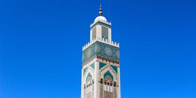 La mosquée Hassan II à