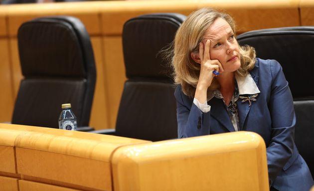 La ministra de Economía, Nadia