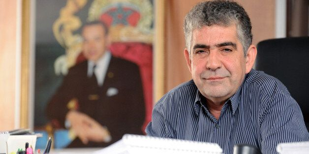 (FILES) In this file picture Driss El Yazami sits in his office in Rabat on August 4, 2009. Driss El...