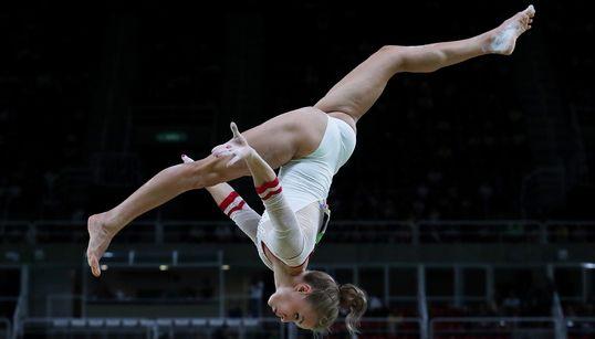 Les impressionnantes images de la gymnastique artistique à