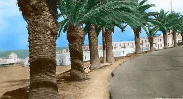 Le boulevard de la Marsa: Deux époques, deux